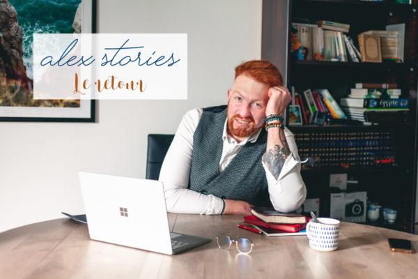 Alex Stories, le retour des histoires d'Alexandre Bridenne